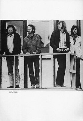 The Doors Poster Page Jim Morrison Ray Manzarek Robby Krieger John Densmore L40