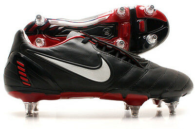 Mens NIKE TOTAL90 Total 90 Laser II K-SG (PROMO) Soft Ground Football Boots SIZE
