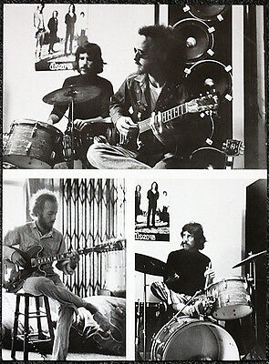 The Doors Poster Page . Ray Manzarek Robby Krieger John Densmore . H65