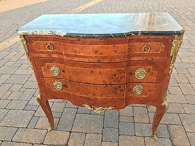 Vintage Marble top French Style Dresser