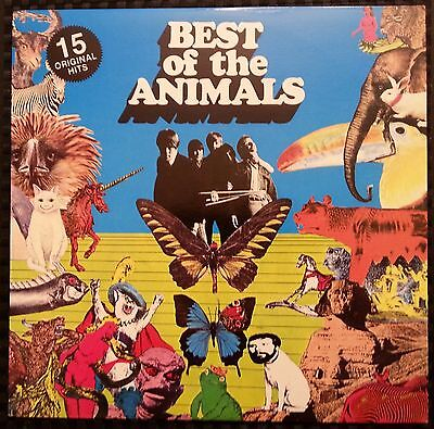 The Best Of The Animals by THE ALIMALS vinyl LP - NM
