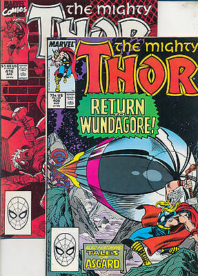 THOR 406 & 416 - 1989 - both issues for 99p