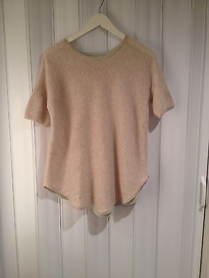 White And Warren Cashmere Swing Top