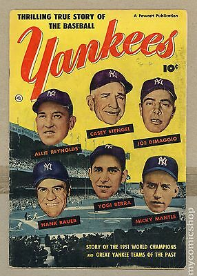 Thrilling True Story of the Baseball Yankees (1952) #0 GD/VG 3.0