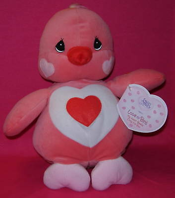 Precious Moments Plush LOVE BIRD My Heart Beats for You VALENTINE GIFT