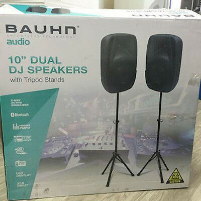 "10"" dual speaker with DJ / PA system Bauhn - BRAND NEW - purchased in Australia"