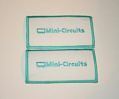 2 Vintage Mini-Circuits Patch New NOS 1970s RF Circuit Board
