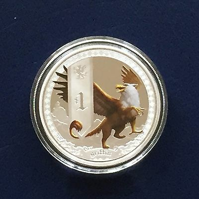 2013 Mythical Creatures - Griffin - 1oz Silver Proof Coin