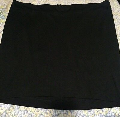 Womens Maternity Under The Belly Band Pencil Skirt Sz Xxl