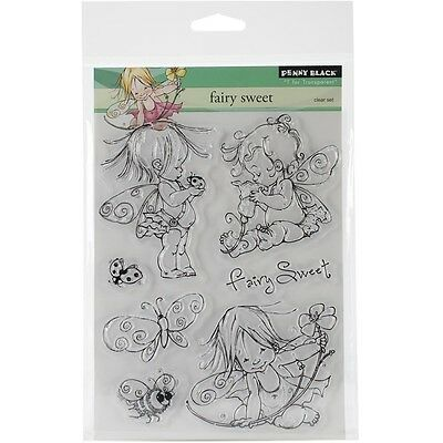"""Penny Black - Clear Stamp - 5""""X7"""" Sheet - Fairy Sweet"""
