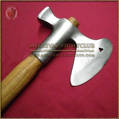 Pollaxe 1450 - single handed Axe Reenactment Weapon Medieval