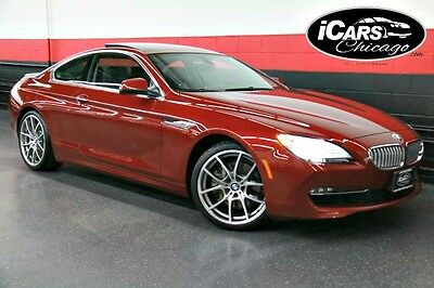 2013 BMW 6-Series Base Coupe 2-Door 2013 BMW 650i xDrive 1-Owner Navigation Warranty Low Miles Back Up Camera WoW!!!