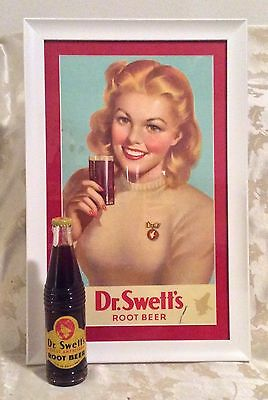 Vintage Dr Swett's Root Beer Sign