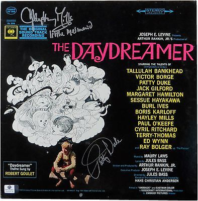 Patty Duke Hayley Mills Signed Soundtrack Album Cover The Daydreamer GV838732