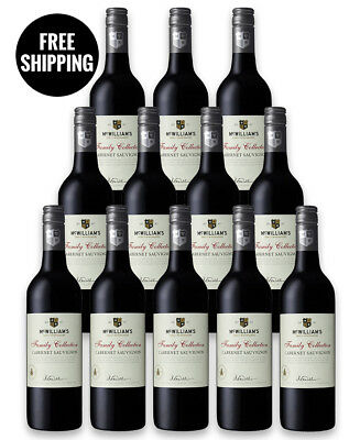 Mcwilliam's Family Collection Cabernet 2016 (12 Bottles)