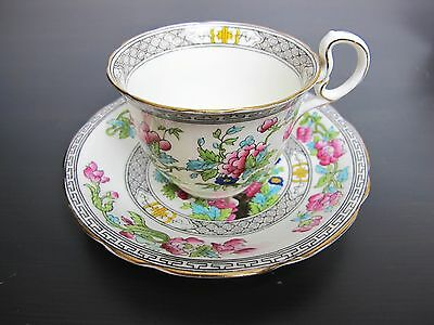 Vintage Aynsley bone china Indian Tree TEA CUP AND SAUCER. A1173