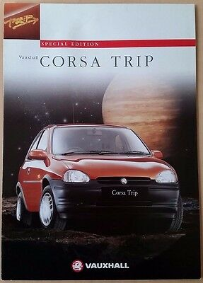 Vauxhall Corsa Trip UK Sales Brochure