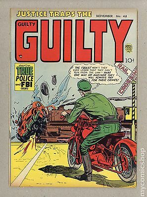 Justice Traps the Guilty (1947) #44 VG/FN 5.0