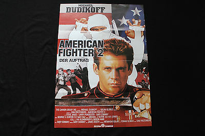 Plakat A1   AMERICAN FIGHTER 2   Michael Dudikoff