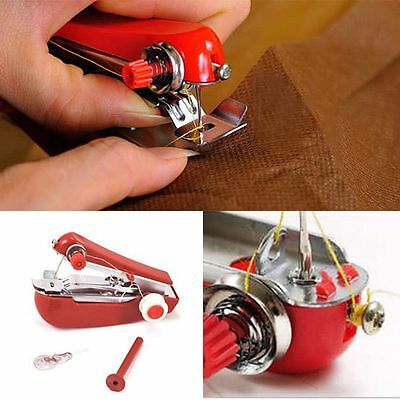 Hot Mini Hand-Held High Quality Clothes Portable Sewing Machine Needlework