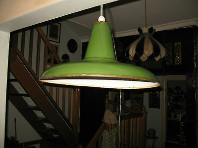A Large Vintage Industrial Light : Rowco