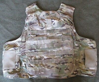 Genuine Us Crye Multicam Improved Outer Tactical Vest/iotv Back Outershell. M.