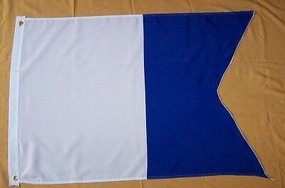 Taucherflagge Flagge Fahne Alpha Diving Diver Down Flag Drapeau Plongeur MD