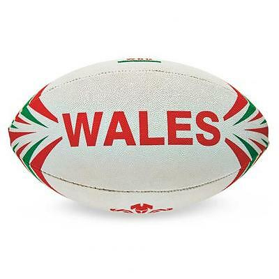 Wales R.U. Rugby Ball Midi Official Merchandise - NEW