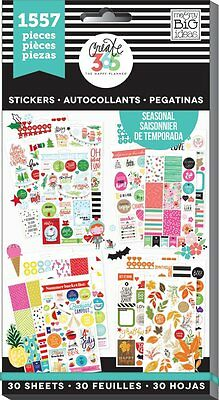 Me & My Big Ideas Create 365 The Happy Planner Seasonal Value Pack Stickers