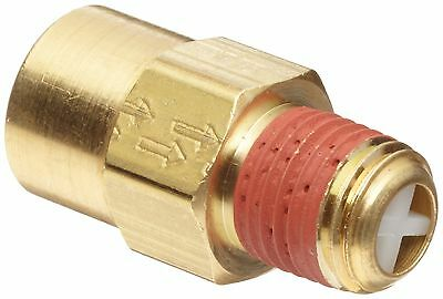 "Control Devices Brass Ball Check Valve 1/4"" NPT Female x NPT Male"