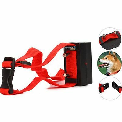 Bark Pet Static Electric Training Shock Trainer Anti-Bark Collar Barking Stop