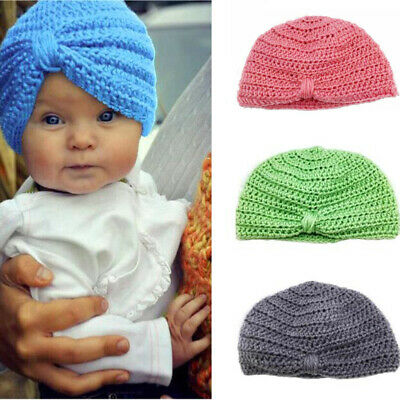 Handmade Childrens Girls Boys Cap Winter Hat Warmer Knitted cap