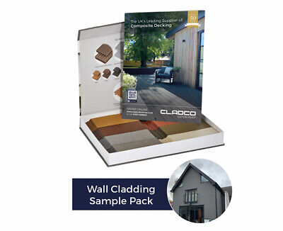 Exterior Wall Covering Cladding Sample Pack - 5 Colour Weather Clad & joist