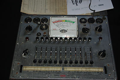 One Eico Model 666 Dynamic Conductance Vacuum Tube and Transistor Tester