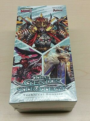 Cardfight Vanguard The Genius Strategy Booster Box Sealed