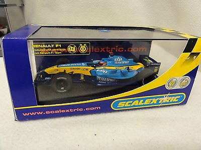 NEW SCALEXTRIC RENAULT F1 2005 TEAM SPIRIT NO 5 REF C2649 MINT Boxed