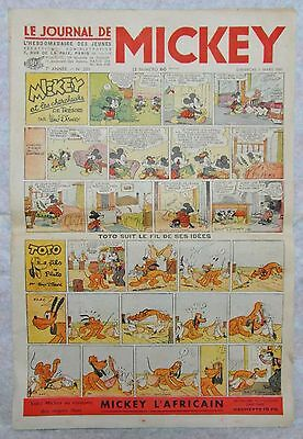 LE JOURNAL DE MICKEY N°281 du 3 mars 1940  en 9 exemplaires