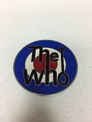 The Who Classic Target Metal Belt Buckle - Used But Never Worn - Free Shipping