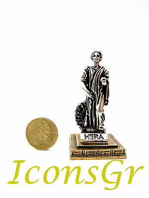 Ancient Greek Olympian God Miniature Sculpture Statue Zamac Hera Queen Of Gods S