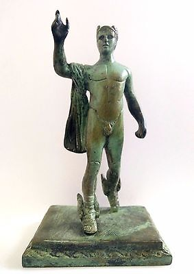 Hermes Messenger God Olympian God Pantheon Sculpture Statue Bronze Ancient Greek