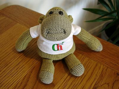 """Collectable Small 7"""" PG Tips Tea Monkey Chimp in T-Shirt Soft Toy Gift"""