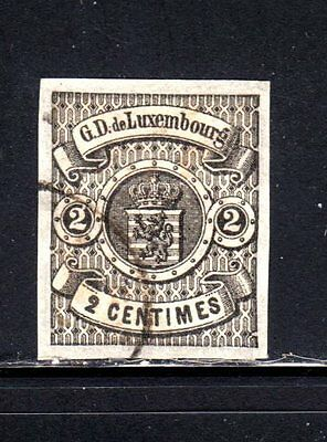 Item No. T30137 – Luxembourg - Scott  # 5 - Used