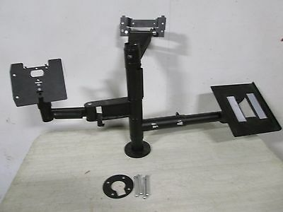 """""""spacepole"""" Commercial Hd Pos Monitor/printer/payment Terminal Mounting Hardware"""