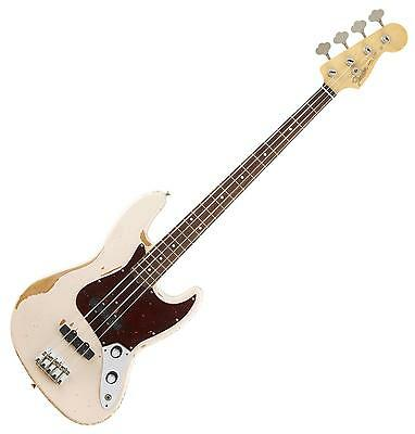 Fender Flea Signature Jazz Bass Guitar Rdwrnshp E-Bass Gitarre Artist Series Bag