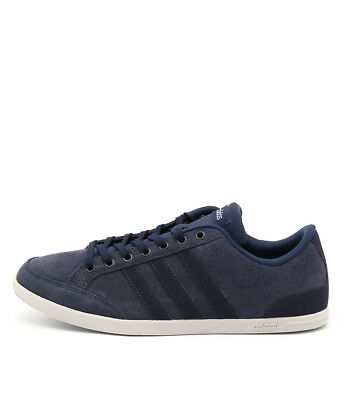 New Adidas Neo Caflaire Navy Navy Blue Mens Shoes Casual Sneakers Casual