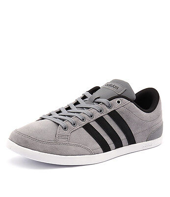 New Adidas Neo Men's Caflaire Grey/Black/Silver Men Shoes Sneakers Sneakers