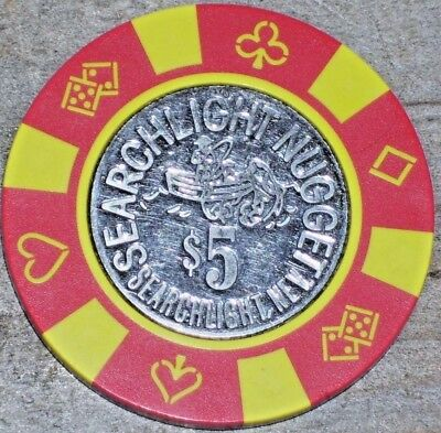 $5 1St Edt Chip From The Searchlight Nugget Casino Searchlight Nv