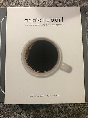 Acaia Pearl Scale The Perfect Balance For Your Coffee New Sealed