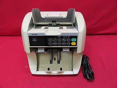 Glory GFR-S80V Currency Counter/Sorter/Discruminator w/ Counterfeit Detection