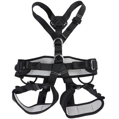 Full Body Safety Harness Sitting Bust Belt for Rock Climbing Rappelling Gear